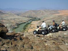 #namibia #quad biking #wilderness