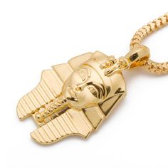 Come january this is mine King Tut Necklace Men's Jewellery, Frank Ocean, My King, 18k Gold, January, Cufflinks, Women Jewelry, Mens Fashion, Sterling Silver