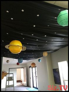 Camping Theme Party Decorations Outer Space 21 Ideas Outside space. Outer Space Crafts, Outer Space Party, Outer Space Theme, Modern Entryway, Entryway Decor, Modern Decor, Entryway Lighting, Modern Lamps, Ceiling Lighting