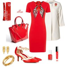 """""""Red"""" by dmiddleton on Polyvore"""