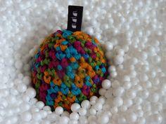 Vejce No.1 Poslední kus originálního vejce pětibarevné příze. Lze dodat s logem i bez. Jiné barevné provedení na poptávku, viz. barevnice bavlnek níže.