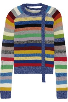 Multicolored cashmere Slips on 100% cashmere Dry clean