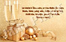 vianočný pozdrav Place Cards, Place Card Holders, Janus