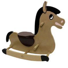 Rocking Horse Woodworking Plan