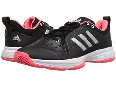 adidas Barricade Classic Bounce Men s Tennis Shoes Black Matte Silver Flash  Red Tennis Sneakers 7d3ae3748