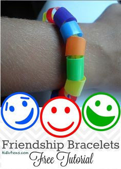 Friendship Bracelets I've been making Friendship Bracelets for years with kids in groups. Get To Know You Activities, Friend Activities, Art Therapy Activities, Preschool Activities, Feelings Activities, Friendship Crafts, Friendship Theme, Making Friendship Bracelets, Friendship For Kids