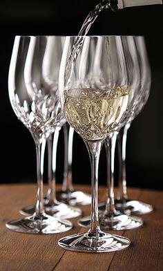 Waterford Lismore Essence White Wine, Set of 5 +1 Free