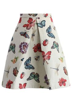 Beauty of Nature A-line Skirt - New Arrivals - Retro, Indie and Unique Fashion