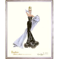 Limited Edition Vintage Veronica Barbie Print : Limited Edition Barbie Artwork at PoshTots