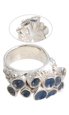 Ring with PMC3™ (Precious Metal Clay) and ICE Resin® - Fire Mountain Gems and Beads