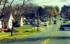 East Main Street Danville Ky 1975 1985