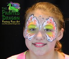 Photo Gallery - The Painted Dragon -- Face painting for the Quad Cities and surronding areas. Dragon Face Painting, Body Painting, Quad Cities, Cool Face, Vendor Events, Painting Services, Face Paintings, Painting For Kids, Paint Ideas