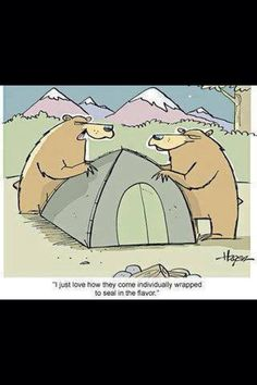 Twisted #humor for #campers.