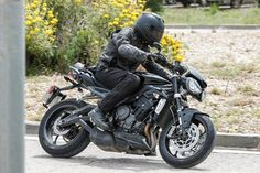 Triumph Street Triple 765 finally spied