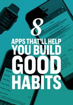 *These Apps Will Actually Change Your Life - Habit tracking, scheduling, goal setting, motivation and more. Find your favorites, take it slow and you can do it.