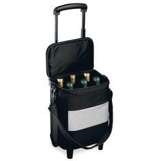6 Bottle Wine Trolley (3364) | IWA Wine Accessories