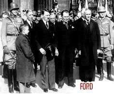 Hitler with friend Henry Ford