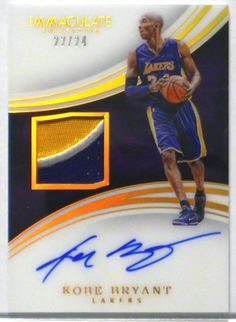 Bryant Lakers, Kobe Bryant, Basketball Cards, Basketball Court, Trading Cards, Sports, Hs Sports, Sport