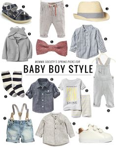 Baby Boy Style Picks for Spring Fashion | Momma Society-The Community of Modern Moms | www.MommaSociety.com