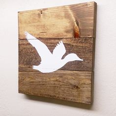 Check out this item in my Etsy shop https://www.etsy.com/listing/266144815/made-to-order-small-flying-duck-wood