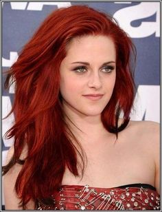 Red Hair Color Ideas for Fair Skin   Red hair colors for warm skin tones