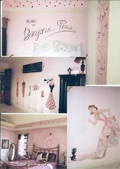 Paris themed room