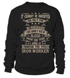 IRON WORKER  => Check out this shirt or mug by clicking the image, have fun :) Please tag, repin & share with your friends who would love it. #ironworkermug, #ironworkerquotes #ironworker #hoodie #ideas #image #photo #shirt #tshirt #sweatshirt #tee #gift #perfectgift