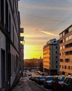 Sunlight in Helsinki! City Photography, Helsinki, Business Travel, Sunlight, Sunset, Photos, Pictures, Nikko, Sunsets