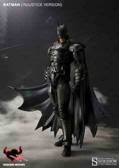DC Comics Batman (Injustice Version) Collectible Figure by T #Affiliate #Batman, #Affiliate, #Comics, #DC, #Injustice Batman Comic Books, Comic Movies, Comic Book Heroes, Héros Dc Comics, Batman Comics, Batman Figura, Figurine Batman, Batman Injustice, Nananana Batman