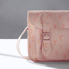 FLAMINGO PRINT SATCHEL from Zara