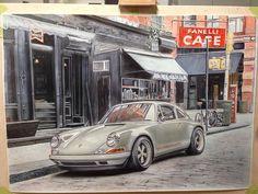 https://flic.kr/p/GYhNiX | 94 Prince St, NY #новыйцвет #картина #newcolordesign #newcolor #porsche #paint #painting #airbrush #thinair #аэрография #рисуем #порше