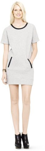 Club Monaco Kelsi Quilted Knit Dress on shopstyle.com