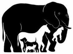 Raciocínio é importante para os jogadores de poker. Vamos treinar!  Quantos animais você consegue ver nessa imagem?