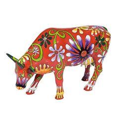 Vaca Flower Lover #CowParade #cowparade #cows #cow #colors @tiendasduarte