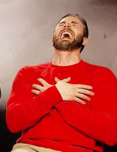 Funny Gifs Chris Evans Funny, Perfect Teeth, Videos Funny, Funny Gifs, I Miss Him, Laughter, Acting, Interview, Hilarious