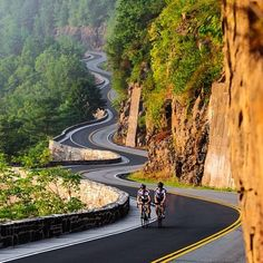 Cycling with nature