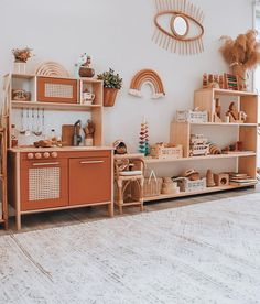 Margaux Follis (@thefrenchfolk) • natural playroom, rainbow, rust, terra cotta