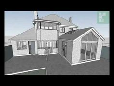 Classical rear extension to family house in Esher