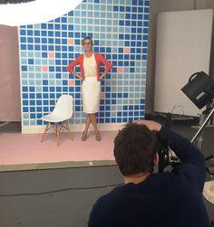 Workwear studio shoot for Spring '12.