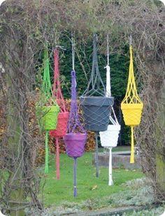 trendy plantenhangers Hangon van STERK Design, Marike Strooper