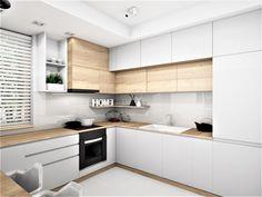 Kitchen Room Design, Kitchen Interior, Kitchen Dining, Kitchen Decor, Kitchen Cabinets, Small Modern Kitchens, Home Kitchens, Home Office Design, Home Interior Design