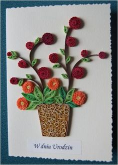 Quilling - card 39 by Eti-chan.deviantart.com