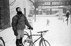 cycling snow
