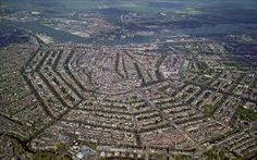 Amsterdam from the sky