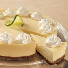Are you a cheesecake lover? Try our Creamy Lime Cheesecake recipe.