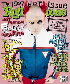 rs767: keith flint Image - 1997 Rolling Stone Covers | Rolling Stone
