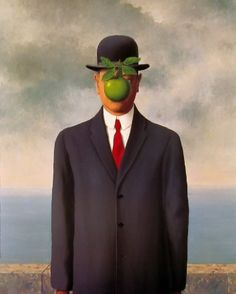 The Son of Man, 1946 by Rene Magritte