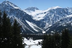 View from an Arosa Bench