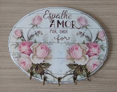 Decoupage Vintage, Decoupage Art, Vintage Decor, Wooden Wall Decor, Shabby Chic Crafts, Frame Crafts, Baby Girl Clipart, Handmade Home Decor, Diy For Teens