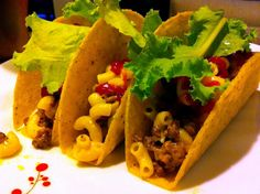 Dinner Time: Mac and Cheese Tacos